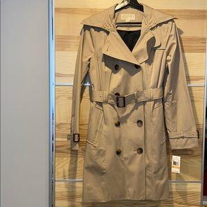 Michael Kors Khaki Trench Coat - Small